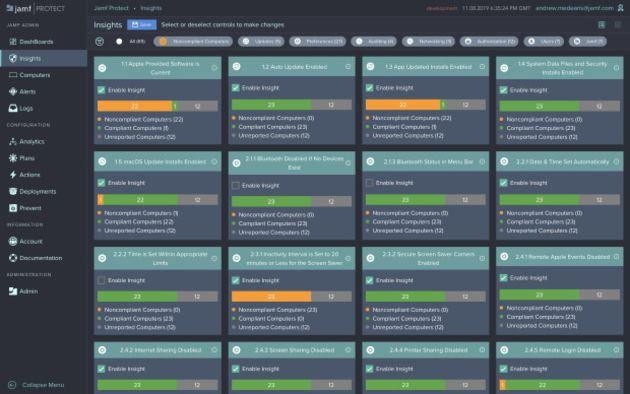 Jamf lance l'analyse de sécurité et la visibilité pour les déploiements Mac