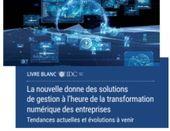 La nouvelle donne des solutions de gestion à l'heure de la transformation numérique des entreprises
