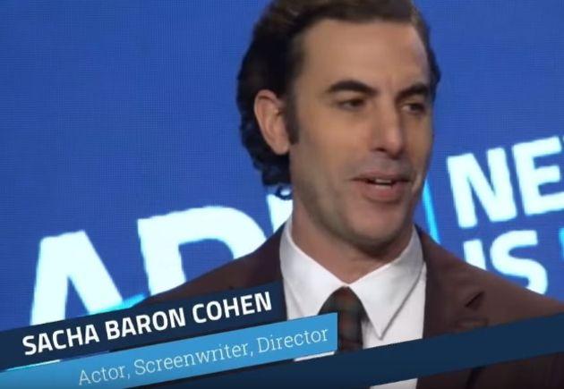 Sacha Baron Cohen défonce la gouvernance des réseaux sociaux (et c'est pas faux)