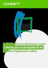 La Mairie d'Issy-les-Moulineaux choisit Cohesity pour la sauvegarde de ses données d'applications métier.