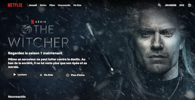 Netflix, 5ème chaîne de France