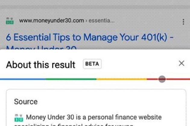 Google tient sa nouvelle recette pour faciliter vos recherches sur la toile
