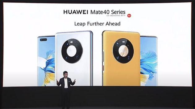 Huawei lance ses Mate40, des smartphones de qualité surtout taillés pour le marché chinois