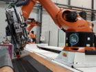 Airbus teste une nouvelle ligne de fabrication automatisée de préformes composites textiles