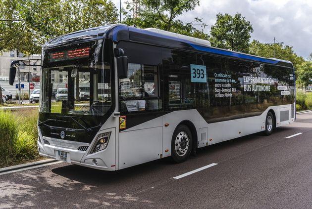 La RATP fait rouler de nuit son premier bus autonome