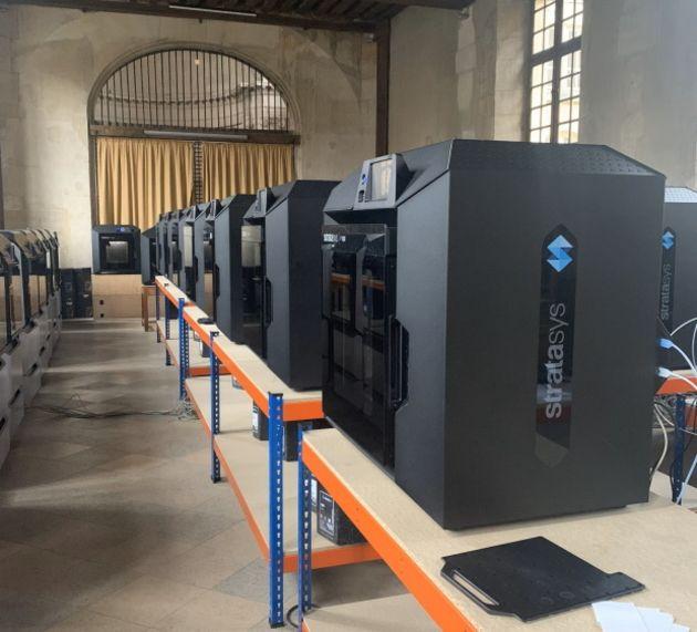 L'AP-HP met en place un parc d'impression 3D pour lutter contre le Covid-19