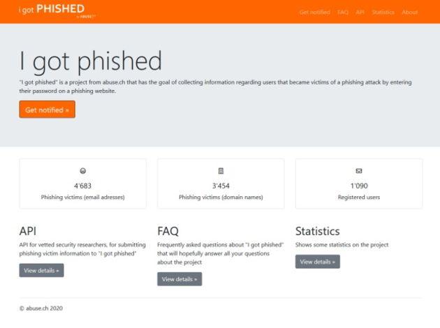 Un service web pour avertir les pros des tentatives de phishing