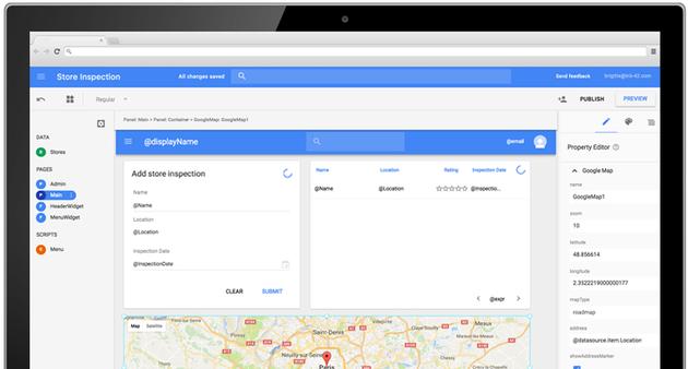 Google annonce la fin de son outil low-code App Maker