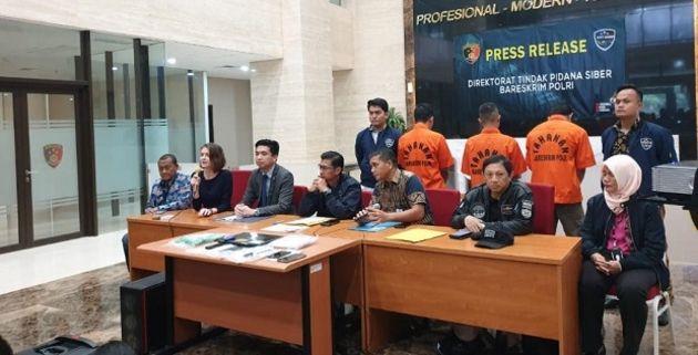 Les membres d'un groupe Magecart arrêtés en Indonésie