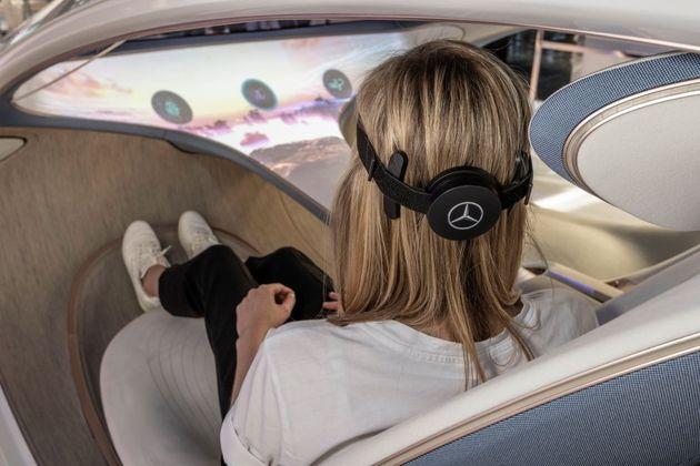 Un concept de voiture du futur permet de changer de station de radio par la pensée