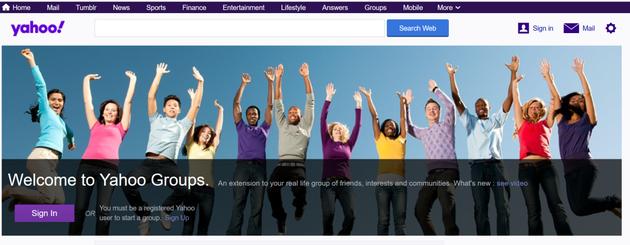 Les groupes Yahoo vont fermer définitivement à la mi-décembre