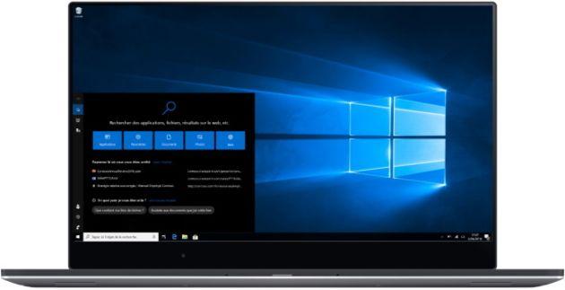 Windows10: bug sur la barre de recherche