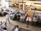 Distanciation physique au bureau: les ascenseurs pour monter, les escaliers pour descendre