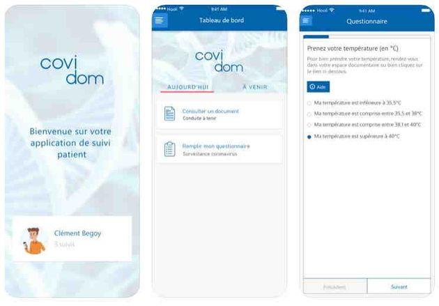 Covidom : l'application française développée en un temps record pour lutter contre le Coronavirus