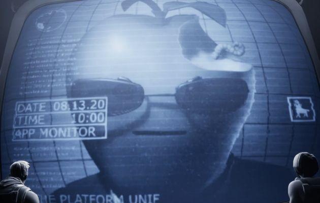 Fortnite: tout comprendre au bras de fer entre Epic et Apple (et à cette parodie d'une pub des années80)