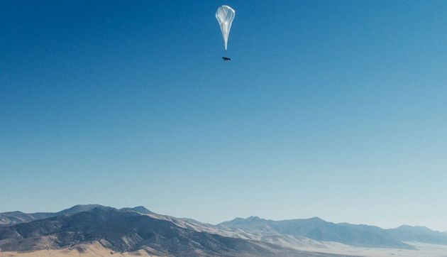 Internet haut débit : les ballons Loon de Google entrent en service au Kenya