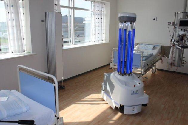 Les robots désinfectants UVD bientôt déployés en France