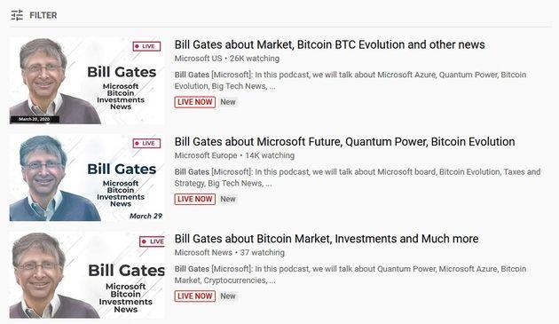 Une vidéo de Bill Gates utilisée pour une arnaque à la cryptomonnaie