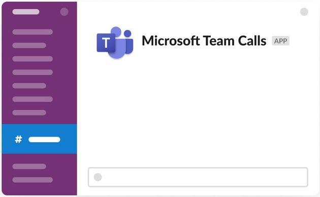 Slack lance la bêta de son application Microsoft Teams Calls