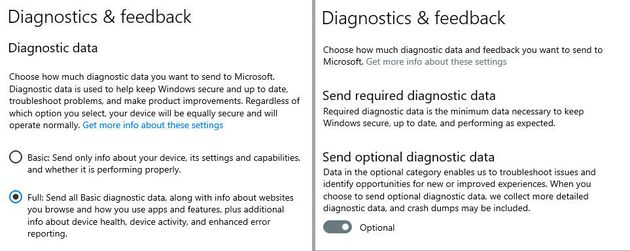 Windows 10: dans la nouvelle preview, Microsoft veut faire oublier la télémetrie