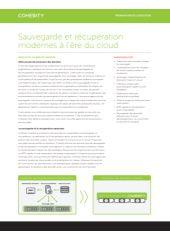 Sauvegarde et récupération modernes à l'ère du cloud