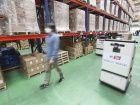 Des chariots autonomes en 5G dans des entrepôts en Corée