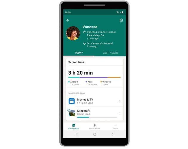 Microsoft lance une prévisualisation de Family Safety pour Android et iOS