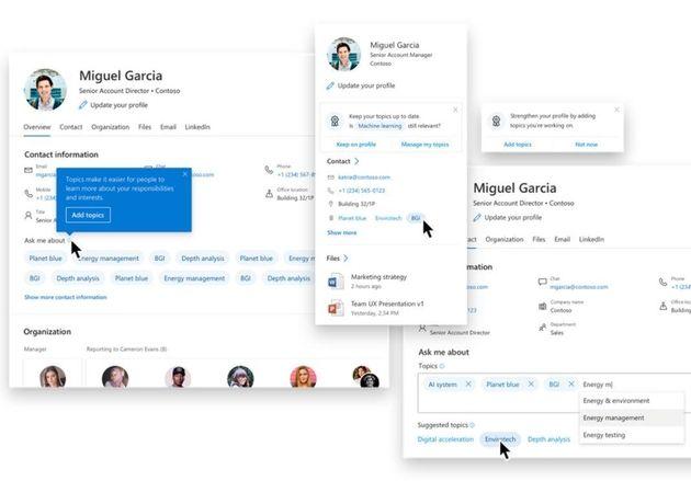 Microsoft veut développer son service de gestion des connaissances
