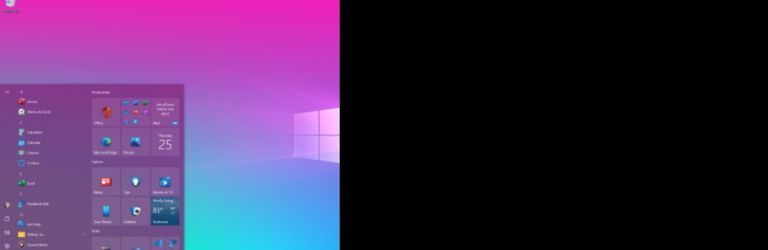 Une build test Windows 10 propose un nouveau menu et des notifications repensées