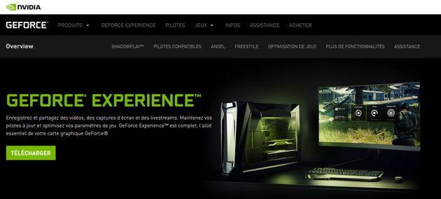 Nvidia corrige une vulnérabilité du logiciel GeForce Experience