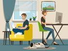 Télétravail: la moitié des employés font face à des problèmes techniques