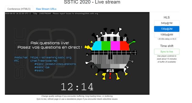 Le SSTIC s'offre une édition dématérialisée