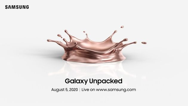 Samsung: Unpacked2020 débutera le 5août