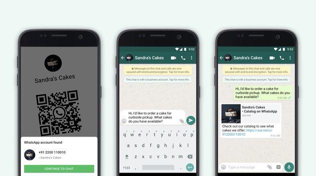 Les QRcodes facilitent la communication entre les marques et leurs clients sur WhatsApp