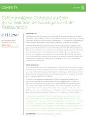 Cyllene intègre Cohesity au Sein de sa Solution de Sauvegarde et de Restauration