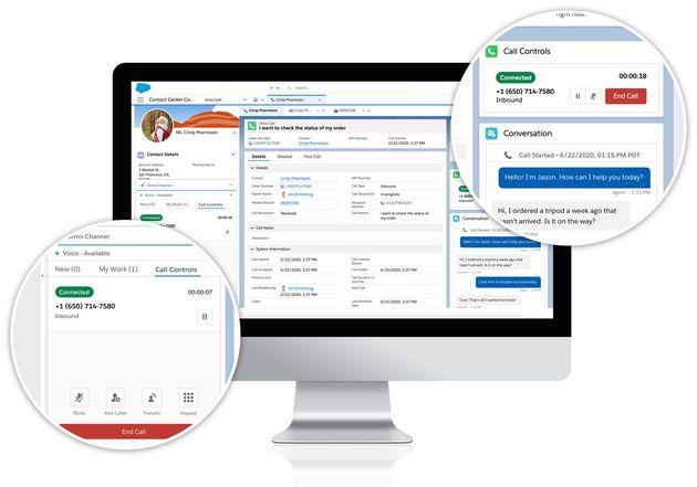 Salesforce s'allie à Amazon Connect pour proposer Service Cloud Voice