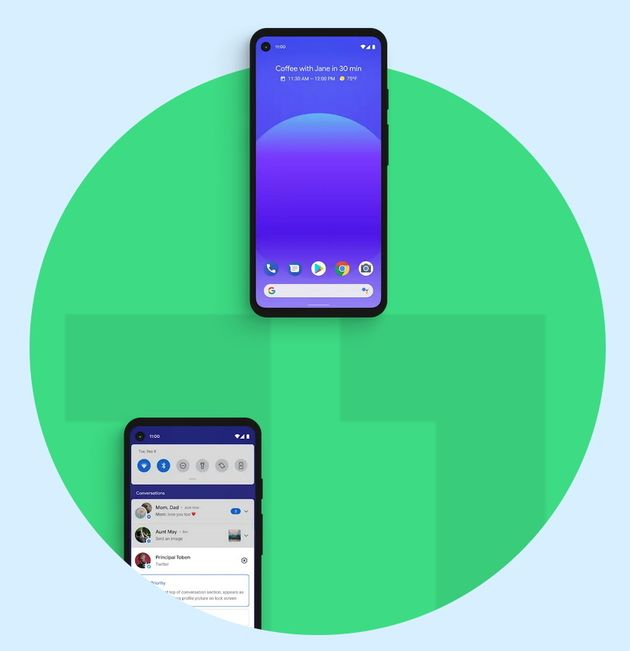 Android11  w630 - Android 11: privacy protection and other new features