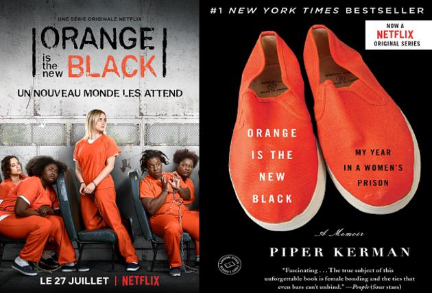 Du livre à la série : Orange Is The New Black