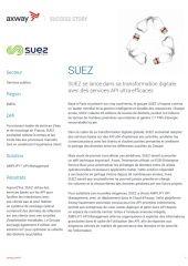SUEZ se lance dans sa transformation digitale avec des services API ultra-efficaces