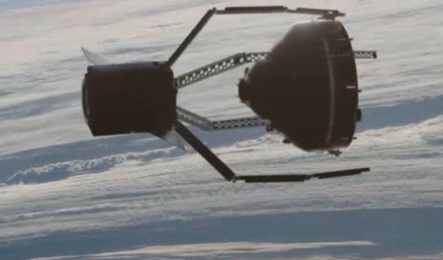 Vidéo : L'Agence spatiale européenne s'apprête à déployer d'énormes pinces spatiales pour nettoyer les orbites