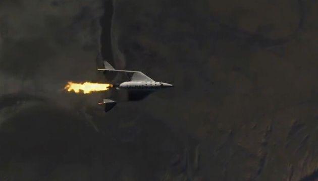 Virgin Galactic annonce son premier vol spatial, les investisseurs doutent