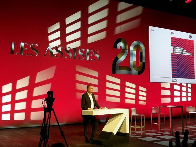 20ans des Assises: Guillaume Poupard ne veut pas se laisser abattre