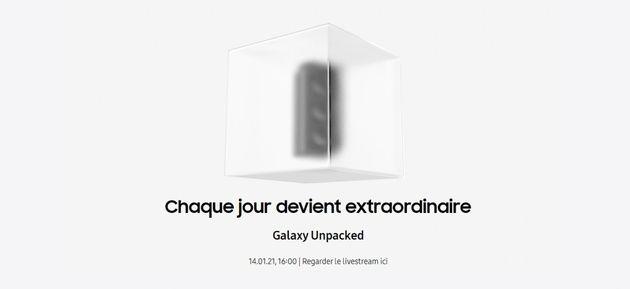 Samsung Unpacked: Lancement des Galaxy S21 le 14janvier