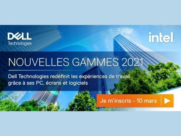 Nouvelles Gammes 2021 : découvrez les nouvelles solutions PC de Dell Technologies le 10 mars