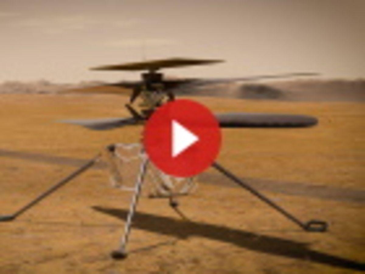 Vidéo : Ingenuity, voler sur Mars grâce aux logiciels libres