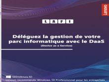 Déléguez la gestion de votre parc informatique avec le DaaS (Device as a Service)