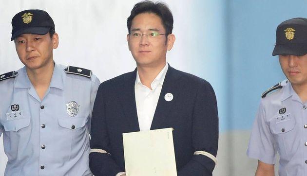Libération en vue pour le vice-président de Samsung