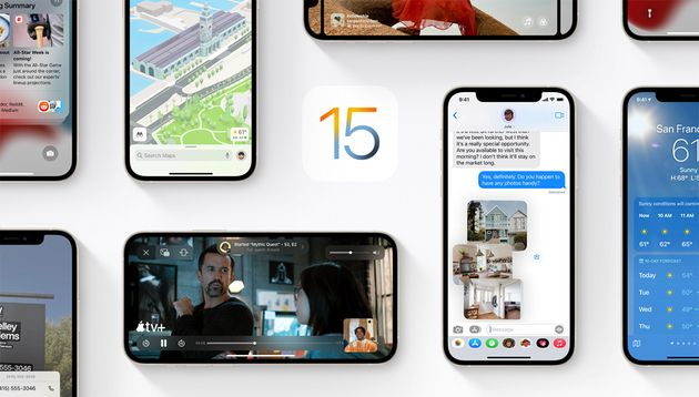 iOS15: La première mise à jour avec correctifs est arrivée